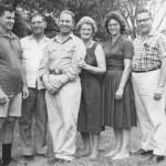 Sam, W.E., Bill, Pauline, Ann, Don 1951